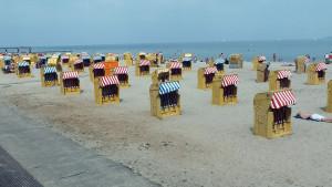 Beach baskets at Travemünde