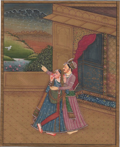 Donate $50+ and receive an original Indian miniature painting (matted 8x10)