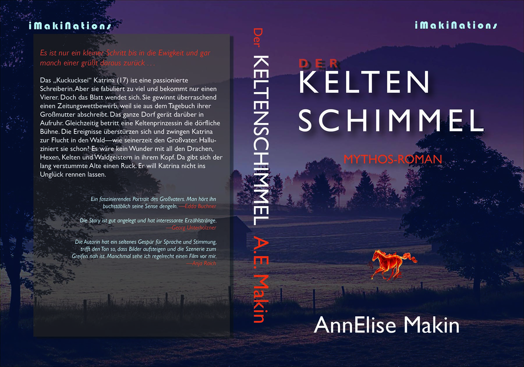 AnnElise Makin Keltenschimmel novel cover