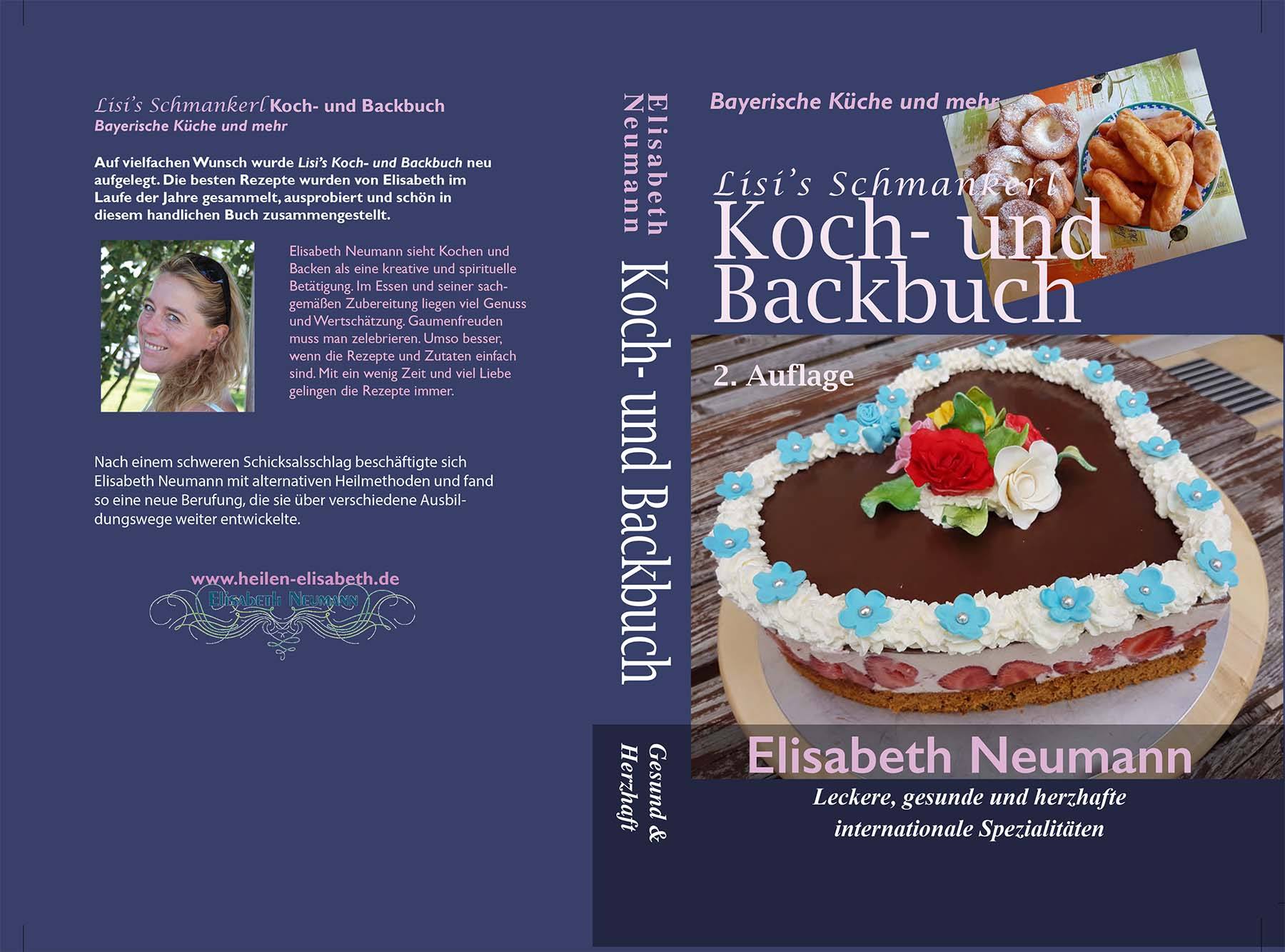 Elisabeth Neumann cookbook cover