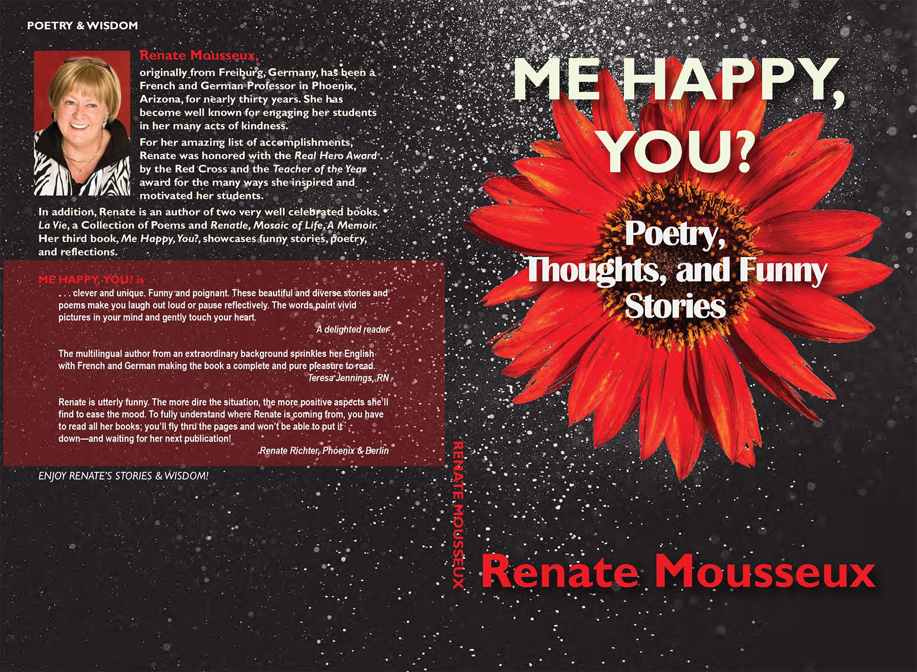 Renate Mousseux funny stories and poems cover